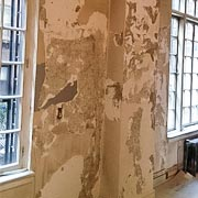 Before we started our speedy plaster restoration