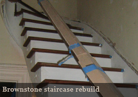 Brooklyn Brownstone Stair Rebuild